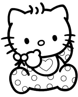 Crayola giant coloring pages hello kitty ~ דפי צביעה הלו קיטי - תינוק